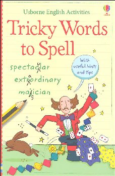 English Activities: Tricky Words to Spell (Usborne)