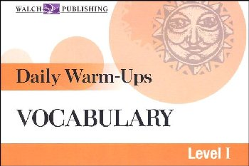 Daily Warm-Ups: Vocabulary (Level 1)