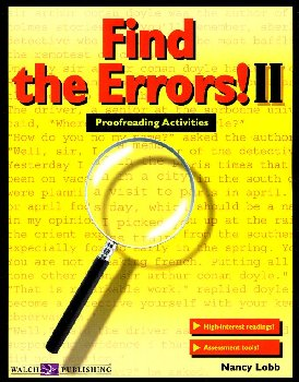 Find the Errors II