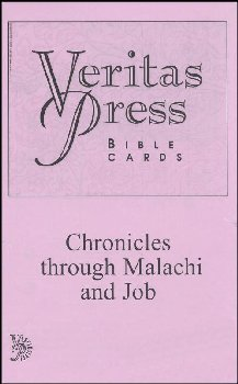 Veritas Bible Chronicles through Malachi and Job Cards