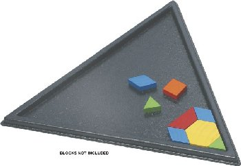 Pattern Block Tray - Triangular