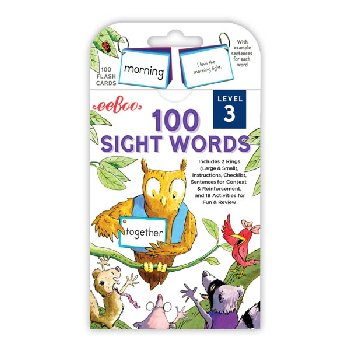 100 Sight Words Flash Cards: Level 3