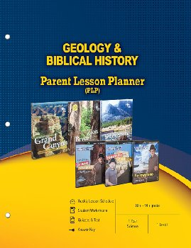Geology & Biblical History (Parent Lesson Planner)