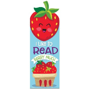 Strawberry Scented Bookmark