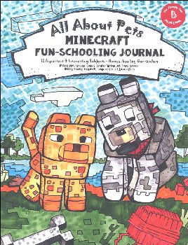 All About Pets Minecraft Fun-Schooling Journal