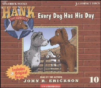 Hank #10 - Every Dog Has His Day Audio CD