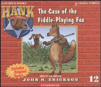Hank #12 - Case of the Fiddle-Playing Fox Audio CD