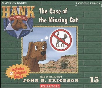 Hank #15 - Case of the Missing Cat Audio CD