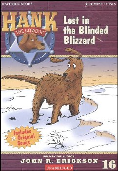 Hank #16 - Lost in the Blinded Blizzard Audio CD