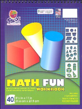 Pacon Math Fun Workbook