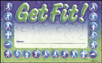 Get Fit! Incentive Punch Card