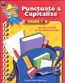 Punctuate & Capitalize Grade 1 (PMP)
