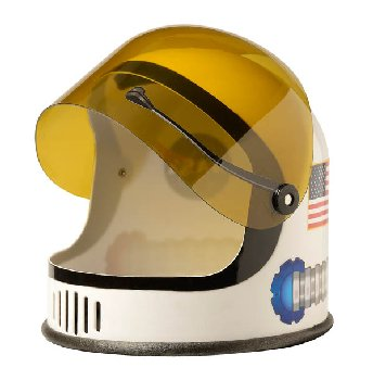 Astronaut Helmet - White (youth size)