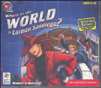 Where in the World is Carmen Sandiego? CD-ROM