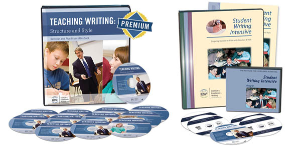 Teaching Writing Structure and Style / Student Writing Intensive Combo Set on DVD Level B