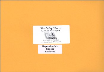 Words by Heart Mini Guide with Reproducible
