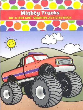 Mighty Trucks Creative Art Book