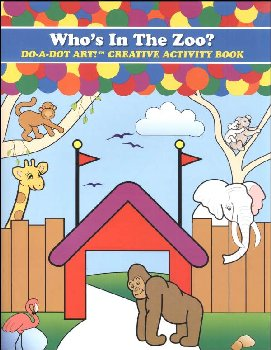 Who's in the Zoo? Creative Art Book