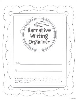 Narrative Writing Organizer Grades 2-3