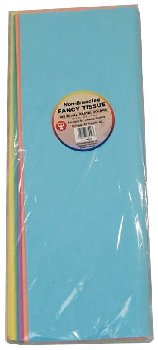 "Tissue Paper - 144 Sheet Assorted Non-Bleed Pastel (20""  x 30"" )"