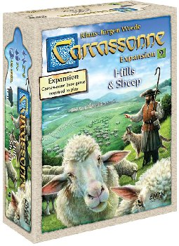 Carcassonne: Hills & Sheep Expansion #9