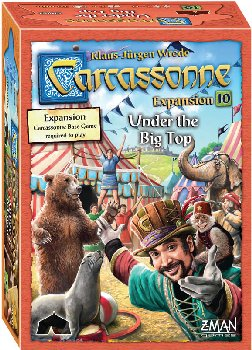 Carcassonne: Under the Big Top Expansion #10