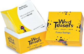 WordTeasers: Funny Sayings Edition