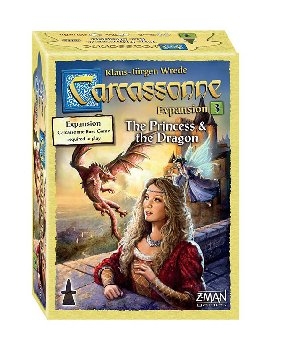 Carcassonne Expansion: Princess and the Dragon