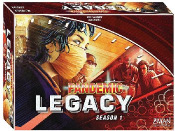 Pandemic: Legacy Season 1 (Red) Game