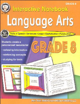 Language Arts Interactive Notebook - Grade 8