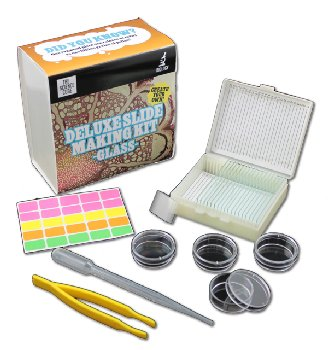 Deluxe Slide Making Kit - Glass