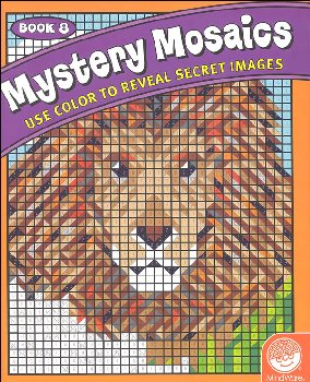 Color By Number Mystery Mosaics: Book 8