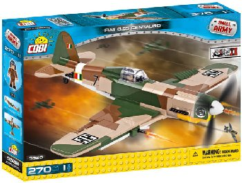 FIAT G55 Centauro - 270 pieces (Small Army WWII)