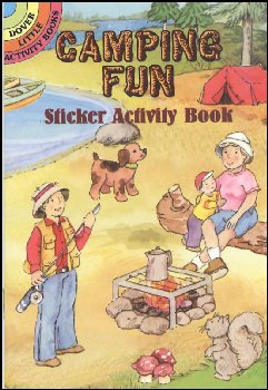 Camping Fun Small Sticker Activity Book