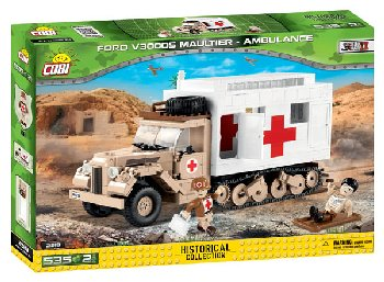 Ford V3000S Maulter Ambulance - 525 pieces (Small Army WWII)