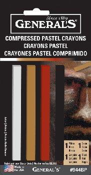 Compressed Pastel Crayons
