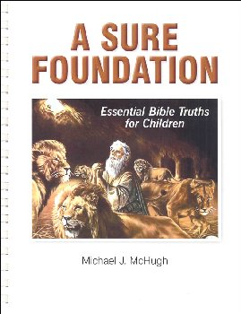 Sure Foundation Bible Study Workbook