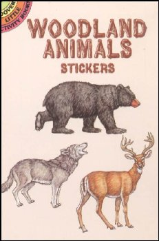 Woodland Animals Stickers