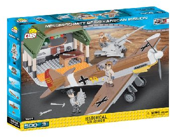 Messerschmitt BF 109 - African Mission - 500 pieces (Small Army WWII)
