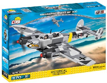 Messerschmitt BF 110C - 370 pieces (Small Army WWII)