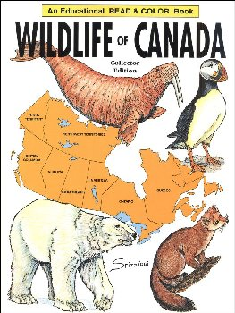 Wildlife of Canada Coloring Book