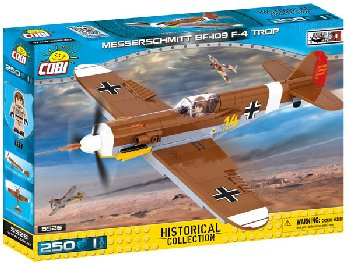 Messerschmitt BF-109 F-4 Trop - 250 pieces (Small Army WWII)