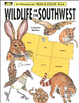 Wildlife of the Southwest Coloring Book