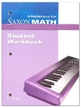 Math Intermediate 4 Adaptations Student Workbook