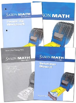 Saxon Math Intermediate 5 Comp Homeschool Kit