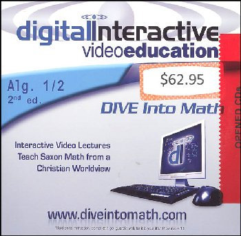 D.I.V.E. CD-ROM for Saxon Algebra 1/2 2nd Ed. Win/Mac