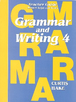 Grammar & Writing 4 Teacher Packet