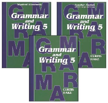 Grammar & Writing 5 Complete Homeschool Kit 1st Edition