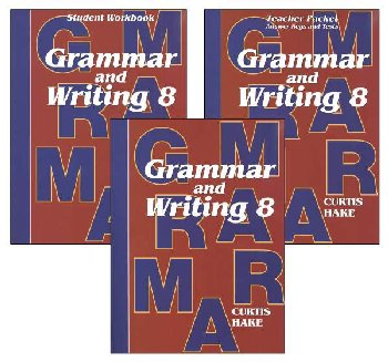 Grammar & Writing 8 Complete Homeschool Kit 1st Edition