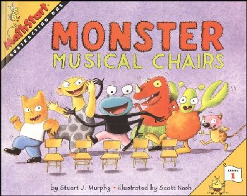 Monster Musical Chairs (MathStart L1:Subtr 1)